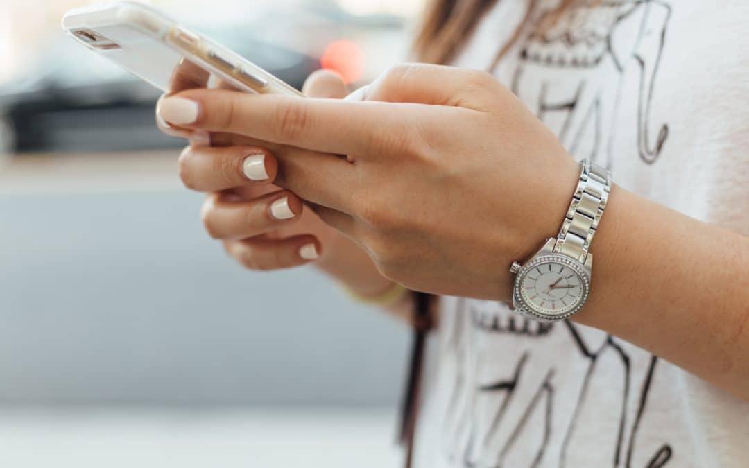 Fixer son menu sur smartphone